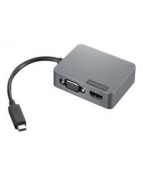 Lenovo Travel Hub Gen2 - Dockningsstation - USB-C - VGA, HDMI