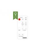 VISION Spare SP-1800PBT Remote Control - Battery: CR2025 3V
