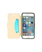 OtterBox Strada - Vikbart fodral för mobiltelefon - genuint