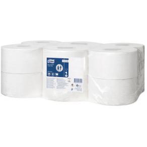 Toalettpapper TORK Mini Jumbo Advanced T2, 1-lag, 12/FP