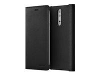 Nokia Leather Flip Case CP-801 - Vikbart fodral