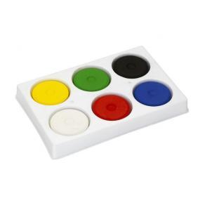 Färgblock Palett, 44mm, 6 färger