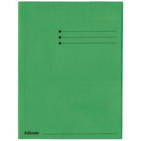 Kartongmapp A4 3-klaff Rainbow grön