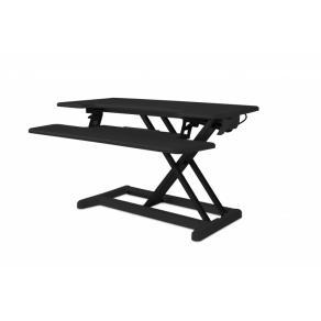 Ståbord höjbart Desk Riser 2 Svart, 88cm