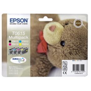 Epson Multipack T0615 - 4-pack - 32 ml - svart,
