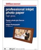 Fotopapper OD A4 h.gloss 50/fp
