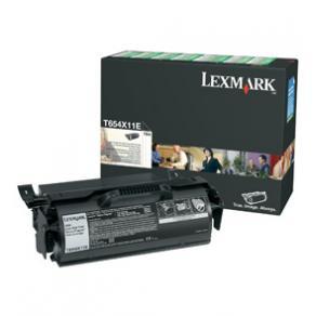 Toner LEXMARK T654X11E svart