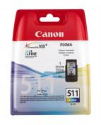 Canon CL-511 - Färg (cyan, magenta, gul)
