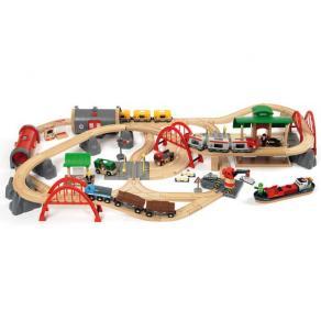 Järnvägsset BRIO World - 33052 Deluxe