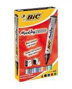 Märkpenna BIC 2000 4 färger