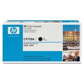 Toner HP C9730A 645A Svart