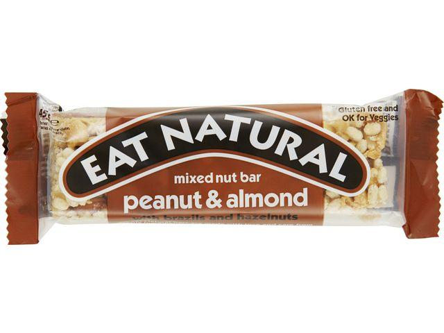 Energibar EAT NATURAL Nötter, 45g, 12st 12st