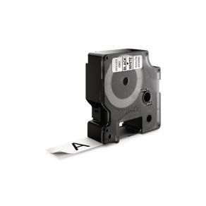Tape DYMO D1 19mm x 7m sort/hvit