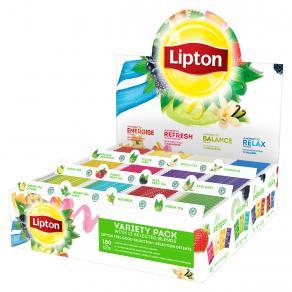 Te LIPTON Sortimentskartong påsar 180/FP
