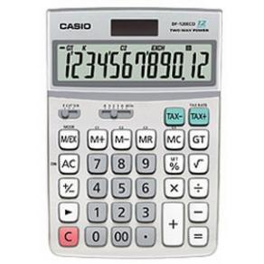 Bordsräknare CASIO DF-120ECO