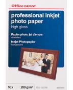 Fotopapper OD 10x15 h.glo  50f