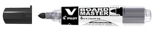 Whiteboardpenna Pilot V Board Svart, konisk