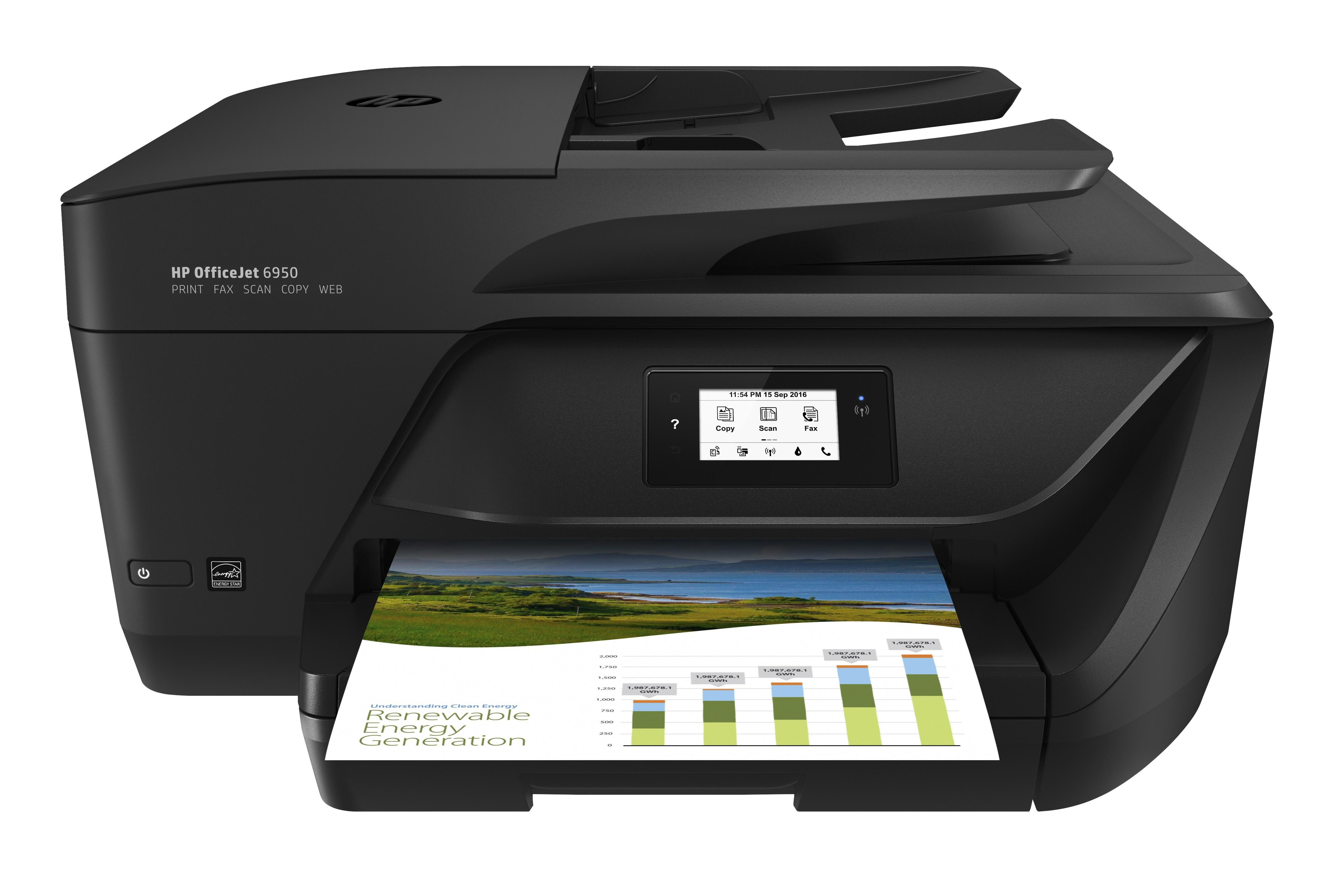 HP Officejet 6950 eAiO printer 3st