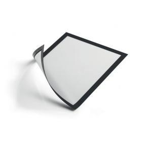 Magnetram DURABLE Duraframe A4, svart ram, självhäftande, 2/fp