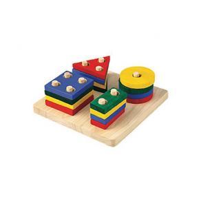 Geometrisk Sorteringsbräda PlanToys