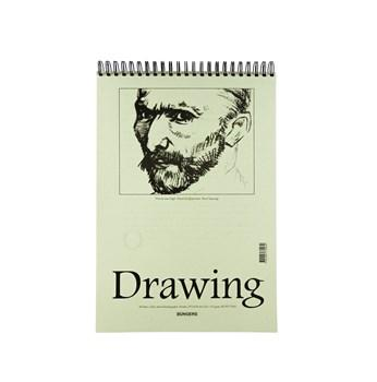 Teckningsblock A3 135g 40 blad 5st