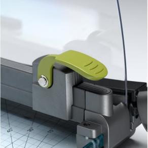 Skärmaskin REXEL A3 CL420 Laser, giljotin 467mm, 25ark