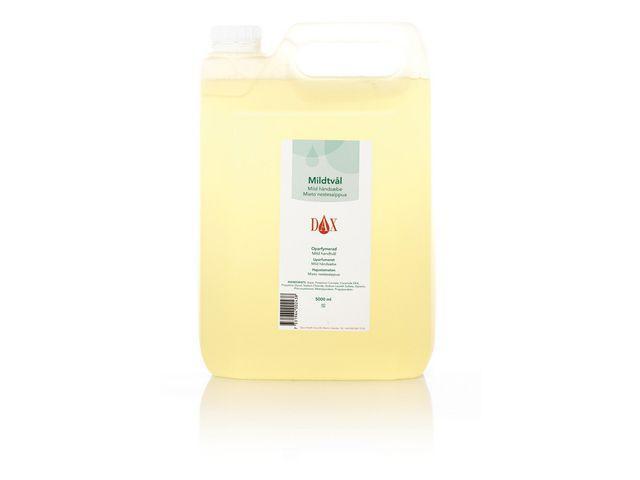 Tvål DAX Mild, oparfymerad, 5L