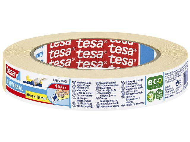 Maskeringstejp Tesa Eco, 19mm x 50m
