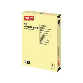 Kopieringspapper Ljusgul/Canary A4, 80g, 500/bunt
