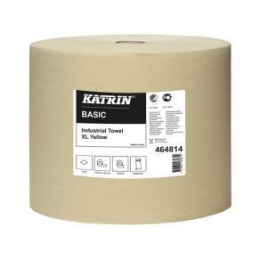 Industritorkrulle KATRIN Basic XL Gul, 1-lag, 1170m/rl