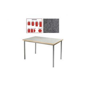 Tapiflexbord Antracitgrå, 180x80x72cm