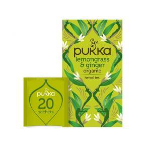 Te PUKKA Ört Lemongrass Ginger 20/FP