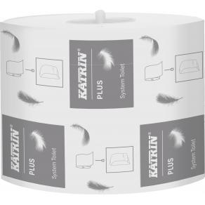 Toalettpapper KATRIN Plus System, 2-lag, 85m, 36rl/fp