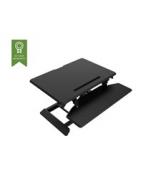 Vision VSS-1 Sit-Stand Desk Riser - Liten - ställ för