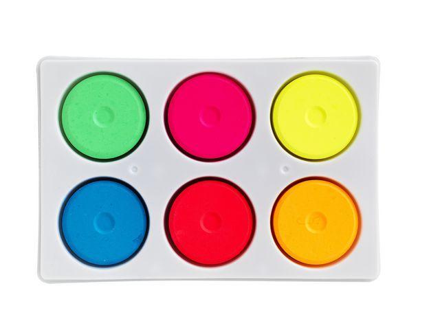 Färgblock neon 44mm 6 färger