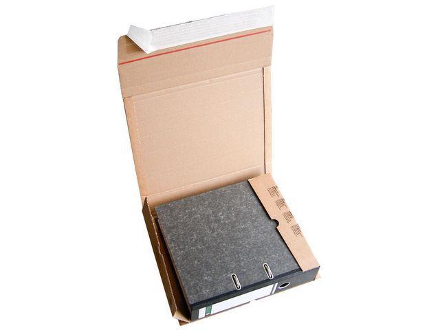 Arkivkartong 290x320mmx35-80mm brun, 20st