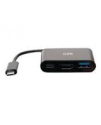 C2G USB C Mini Docking Station - USB C to HDMI, USB 3.0 & USB C