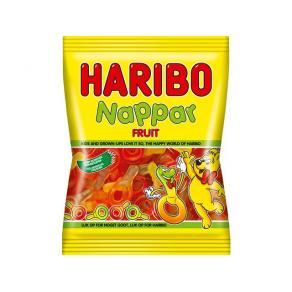 HARIBO Fruktnappar 80g, 24st