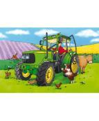 Golvpussel Traktor, 60x40cm