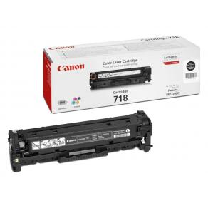 Canon 718 Black - Svart - original