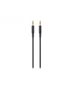 Audio 3.5mm M/M Portable, Black (1m)