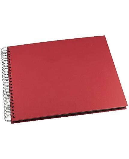 Fotoalbum GRIEG Design stort 40 sid rött