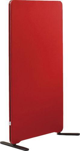 Golvskärm Edge 800x1500mm röd
