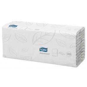 Pappershandduk TORK C-fold Advanced H3, Polypack 2400/FP