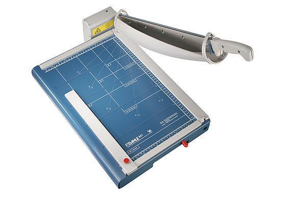 Skärmaskin DAHLE 867 A3, giljotin 460mm, automatisk press, 35ark