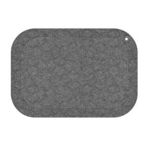 Arbetsplatsmatta StandUp 53x77cm grå