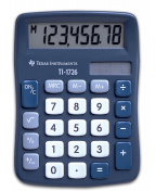 Texas TI-1726 solar calculator