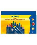 Bivaxkrita Lyrax, 12 färger