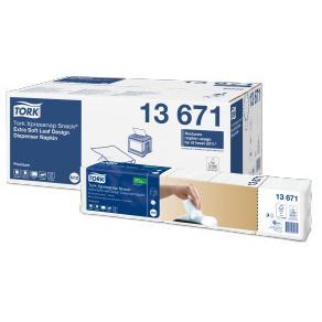 Servett för TORK Xpressnap Premium N10, 2-lag, vit, 500/FP