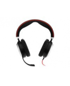 Headset Jabra Evolve 80 MS stereo 3,5mm (USB tillval)